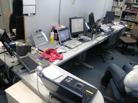 SOBA mierukaでテストに使われているパソコン達