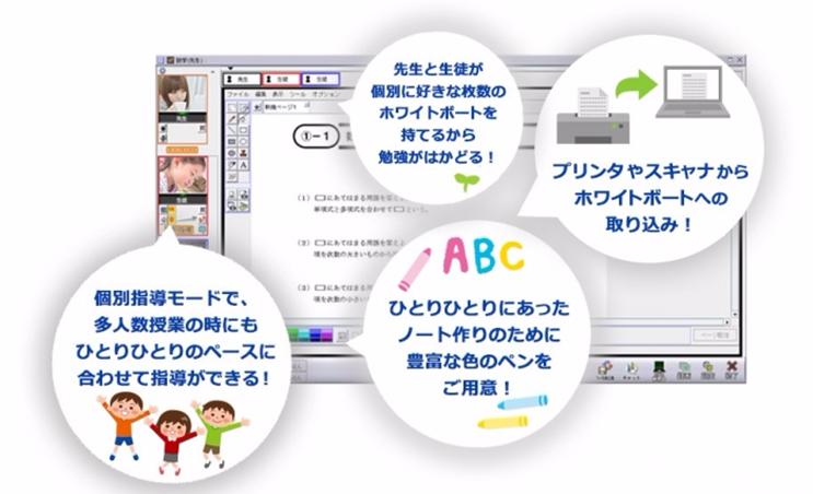 SOBAスクールがアプリのインストール不要になり簡単に授業開始できるようになりました。